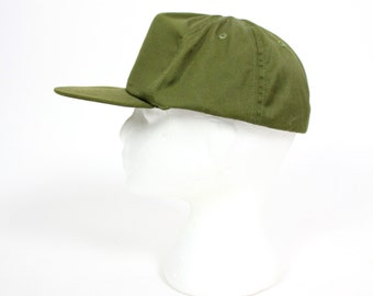 Vintage Retro Army Green Hat