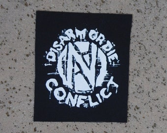 conflict sew on patch