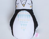 Penguin Rattle Soft Toy