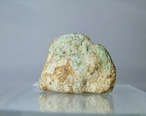 Natural Turquoise Loose Nugget Rough Collectible Single Specimen 28.22 grams Sliced & The Rest is Natural Rare Specimen DanPickedMinerals
