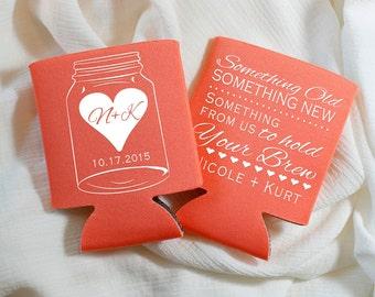 Something Old Something New Wedding Favors, Mason Jar Wedding, Wedding Favor, Mason Jar Wedding, Something Old Something New Bridal Gift