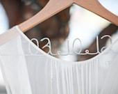 Wedding Dress Hanger, Wedding Date Hanger, Sale Personalized Hangers, Gift for Bride, Bridesmaids Gifts, Wedding Photo Prop