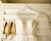 Hanger for Wedding Dress, Engagement Gift, Wedding Dress Hanger, Wedding Details, Gift for Bride, Bridesmaids Gifts