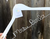 Hangers for Wedding, Bridal Hanger Personalized, Personalized Hanger for Bride, Mrs Hanger for Wedding Dress, Wire Hanger Wedding, Hangars