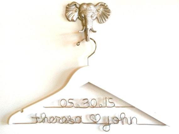 Wedding Dress Hanger, Engagement Gift, Sale Personalized Bridal hanger, Bridal Shower Gift, Wedding Hanger with Date, Bridal Hanger