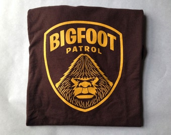 Bigfoot Patrol Screen Printed T-Shirt