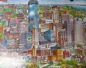 Vintage City of Minneapolis jigsaw puzzle