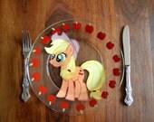 Applejack glass plate