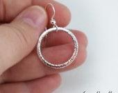 Small Sterling Silver Hoop Earrings - Silver Hoop Earrings - Hoop Earrings - Small Hoop Earring - 925 Sterling Silver - Eco Friendly Jewelry