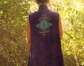 Tribal MOONS Layering Vest