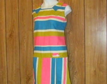 On Sale-Fabulous RETRO 1960's SCOOTER Dress