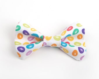 Easter bow tie, jelly bean bow tie, kid's easter bow tie, adult bow tie, men's bow tie, toddler easter bow tie, easter tie, candy bow tie