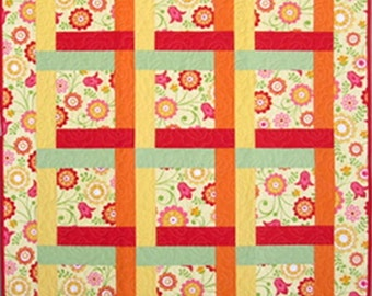 Bright Hopes Baby Quilt - 38 in. X 48 in.