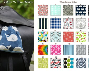 Miscellaneous Prints Stirrup Covers Many Prints - MADE TO ORDER