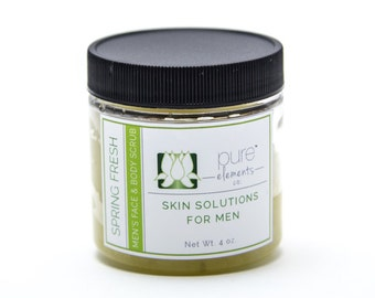Men's Spring Fresh Body Scrub