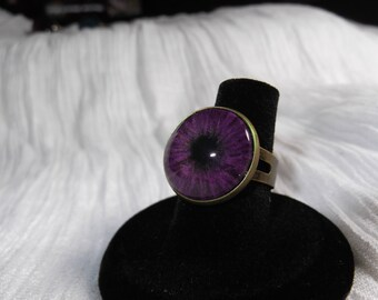 Sale - Violet Eye Ring
