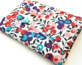 Wiltshire A (red, pink, teal, blue) Liberty Mini Single (9x12 inches)