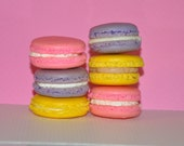 French Macarons Cookies  Almond  Gift Favor Variety Choice of flavors