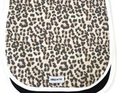 Universal Pram/Stroller liner Snow Leopard Small Size