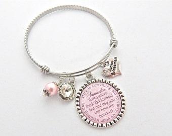 JUNIOR BRIDESMAID Bangle Bracelet Children's Jewelry Personalized Wedding Charm Bracelet Flower Girl Gift Childrens Wedding Keepsake Jewelry