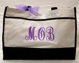 Personalized Gift Tote Bag Mother of the Bride or Groom, Wedding Bags, Bridesmaid Gifts