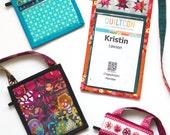ID Badge holder pattern--instant download PDF
