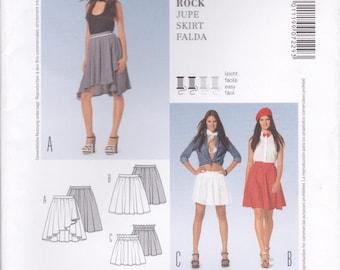 Versatile Skirt Pattern Burda 7229 Sizes 6 - 18 Uncut
