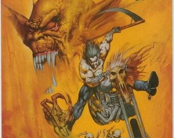 Vintage Demon (Etrigan the Demon) Number 12 Junes 1991 3rd Series DC Comics - Merlin - Batman - Lobo - Jason Blood - MAGE - GRENDEL