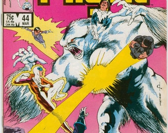Vintage Alpha Flight Marvel Comics Number 44 March 1987 - Avengers - Love - Sub-Mariner - Attuma - Atlantis - Marrina - The Master