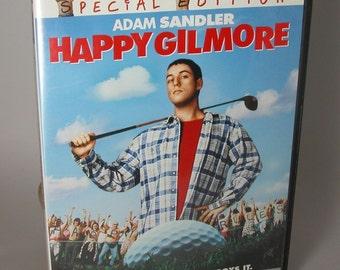 Vintage Adam Sandler Happy Gilmore Full Screen Special Edition DVD 1996 Movie - Ice Hockey - Golf - Sports - Golf Tournament - Bob Barker