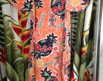 Hawaiian Print Dress Tommy Bahama