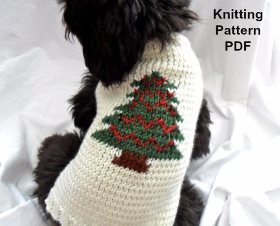 Knitting Patterns Dog Breeds : Dog Sweater Knitting Patterns Small Dogs Knitting Charts Knitting Dog Dog B...