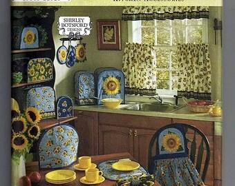 kitchen Accessories / Original Simplicity Home uncut Sewing Pattern 8693