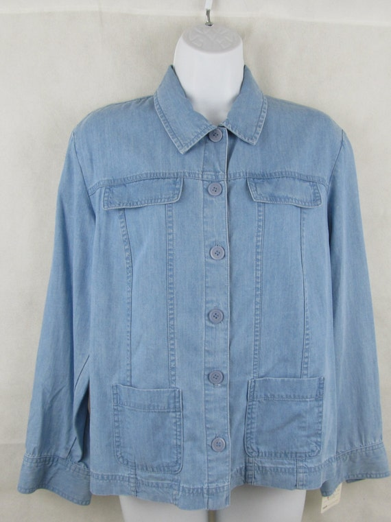 Womens Chambray Denim Shirt