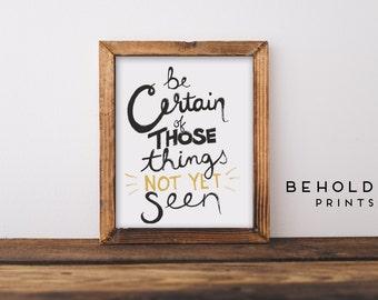 Dorm Wall Art, Bible Quotes, Scripture Wall Art, Scripture Prints, Christian Wall Art, Inspirational quote, Hand Lettered Truth, Dorm Decor
