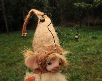sweet   ooak posable   tiny fairy fairie fae bug