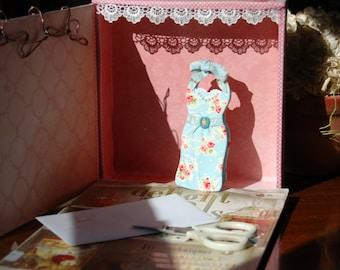 Wiggle dress card
