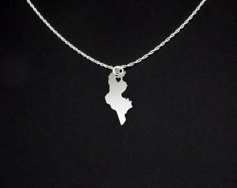 Tunisia Necklace - Tunisia Jewelry - Tunisia Gift