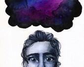 5X7 Art Print - Corrupted Mind