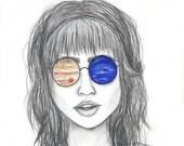 5X7 Art Print - Solar Visions