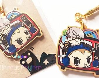 Golden Acrylic strap charm: Persona 4