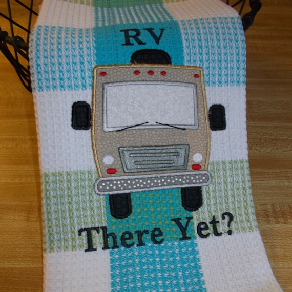 Embroidered Towel Kitchen Towel Funny Kitchen Towel