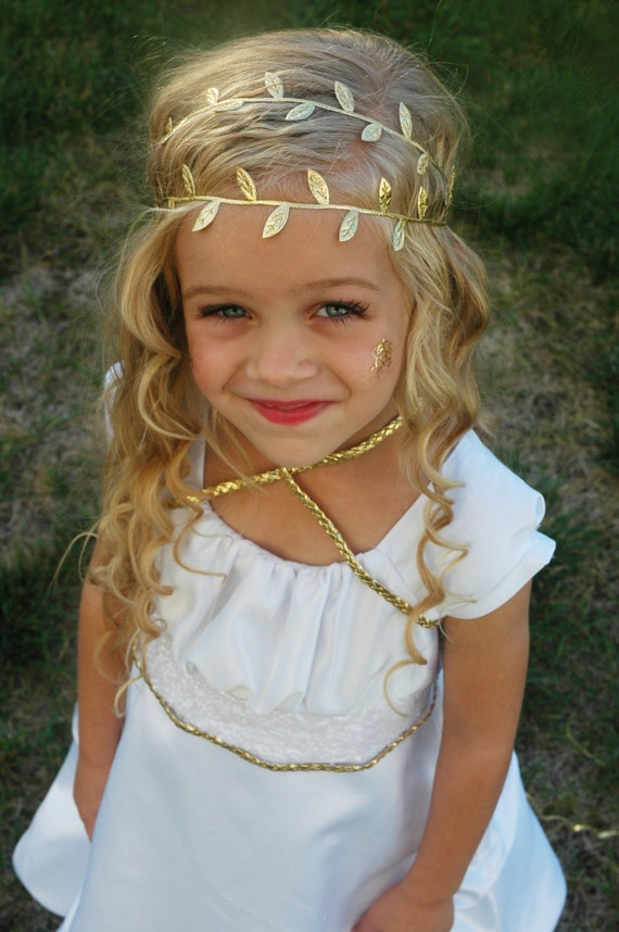 Greek Goddess Headband, Gold Leaf Headband, Gold Headband, Gold Headband, Leaf Headband, Adjustable Headband, Gold Leaves Headband,