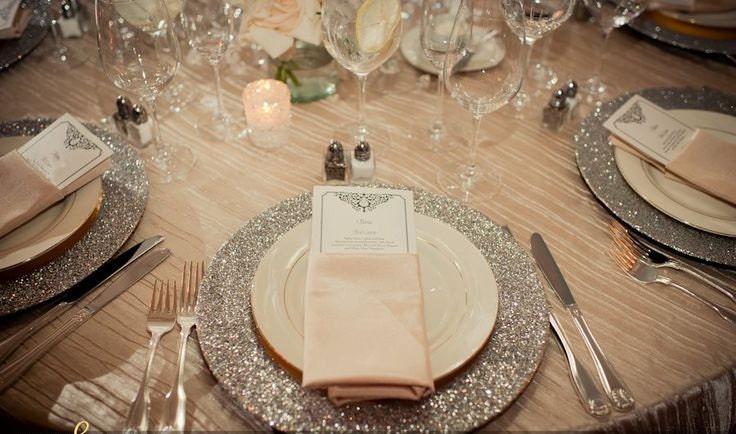Wedding Charger Plates Disney Inspired Fairytale Wedding