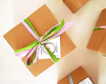 Dark Chocolate Caramels  with Pink Himalayan salt - 8 oz. box