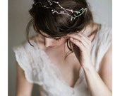 Custom Order - Bridal Hair Vine - Clarice for B