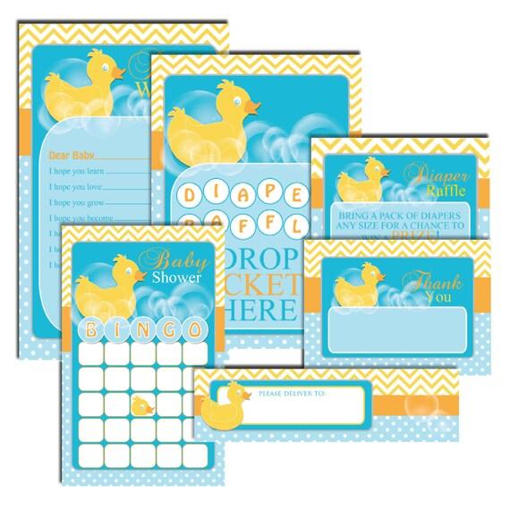 duck baby shower essentials duck baby shower games duck baby wish card