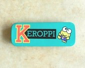 90's KEROPPI PENCIL CASE - Sanrio / Kerokerokeroppi / Hello Kitty / Collectible / Rare