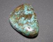 Pickhandle Mine Natural Turquoise Cabochon from Nevada, 21.76 ct.