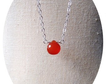 Carnelian Fertility Necklace, Carnelian Jewelry, Pregnancy Necklace, Fertility Boost, Fertility Jewelry, Carnelian Fertility Jewelry, Gift